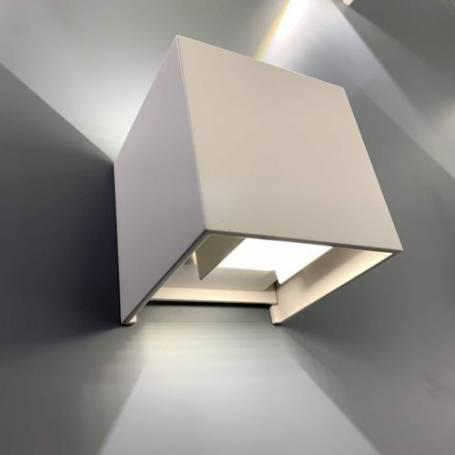 Applique led - Double faiseaux orientable - Blanc