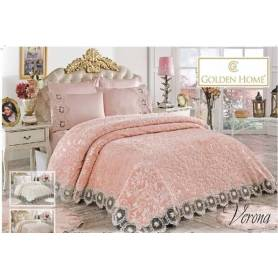 Couverture verona rose