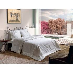 couvre lit venedik blanc