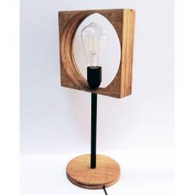 Lampe À Poser Combino Veil – Bois&Fer – H45