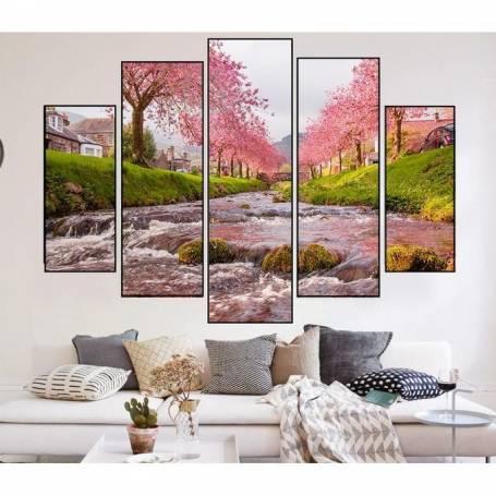 Tableau décoratif 5 Pièces - Nature