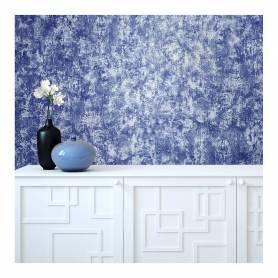 Papier peint Intissé - Bleu