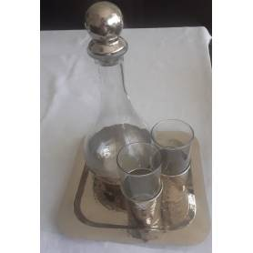 Service à eau en cuivre...