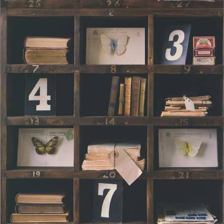 Papier peint Bibliothèque et curiosité - Reality 3 Réf 51152008