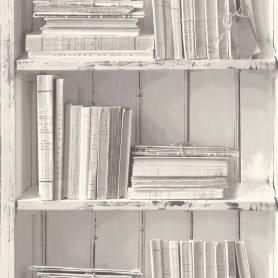 Papier peint Bibliothèque...