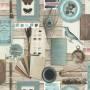 Papier peint Inspiration céladon - Reality 3 Réf 51185404