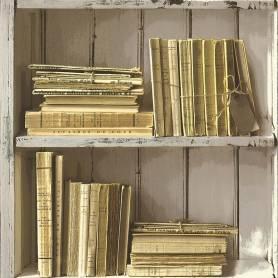 Papier peint Bibliothèque -...