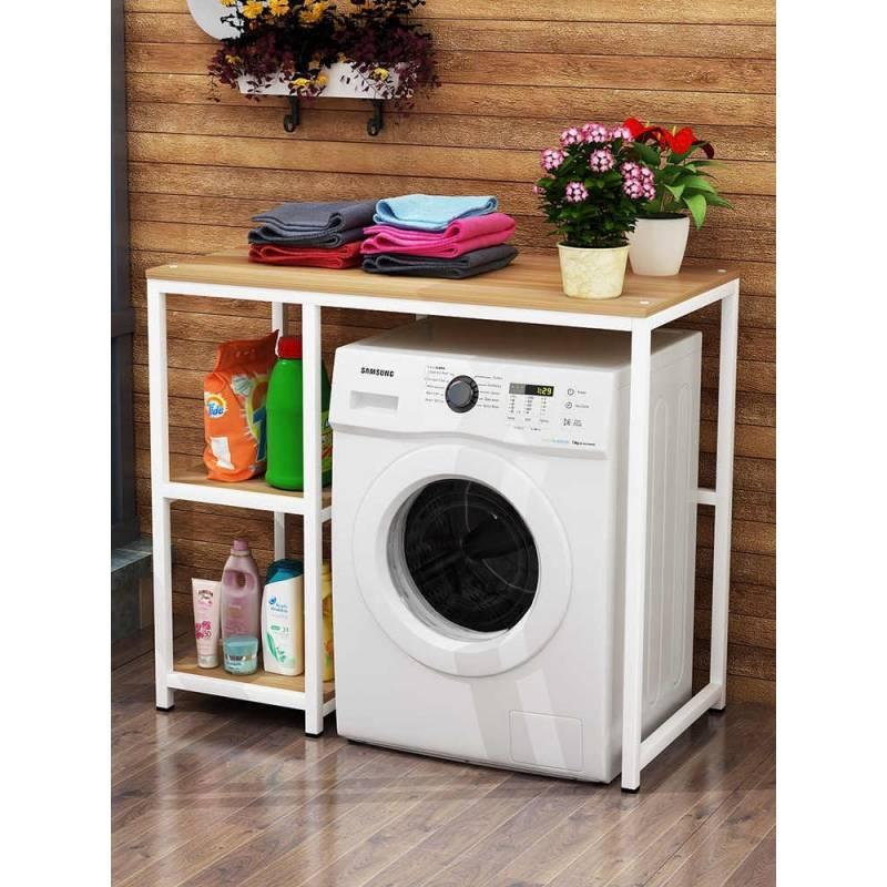 étagere de machine à laver de salle de bains baitytn