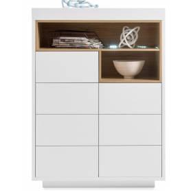 Buffet Sausane  design  blanc