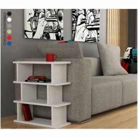 Table - Linda - 60*60*30 cm - Blanc