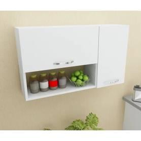 Rangement de cuisine Murale - Blanc