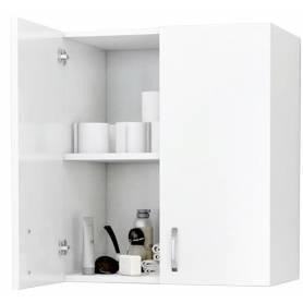Armoire de salle de bain  Blanc