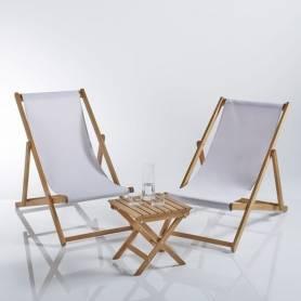 Deux chaises pliante...