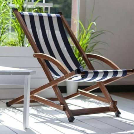 Chaise longue moderne et adorable en bois