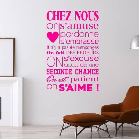 Sticker Chez Nous