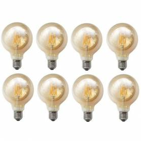 Pack 8 Lampes - LED - 4W -...