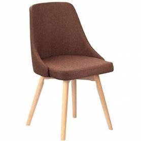 Chaise - Scandinave - Tissu...