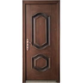 Porte extérieure en marron...