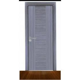 porte d'intérieur en gris...