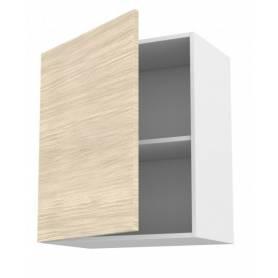 ARCHICUISINE  Meuble de cuisine haut ouvrant 1 porte  - Chêne claire