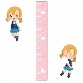 Tableau de hauteur des enfants