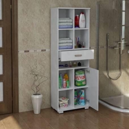 Armoire avec tiroir salle de bain