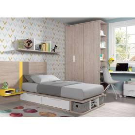 chambre à coucher langly 104