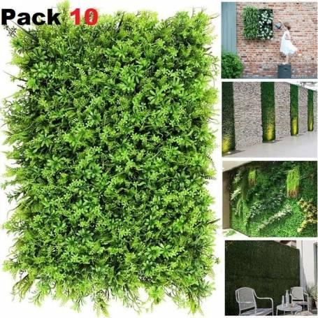 10 Panneaux décoratif 3D Tulipe - 60*40cm
