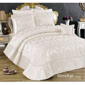 Golden Couvre-lit - Mennekes - Blanc