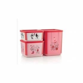 Set 3 boites Cubix Mickey -...