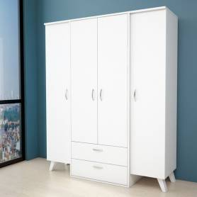 Armoire scandinave - MDF...