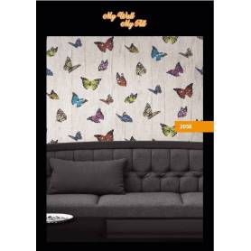 Papier Peint - Papillons - Réf 2058