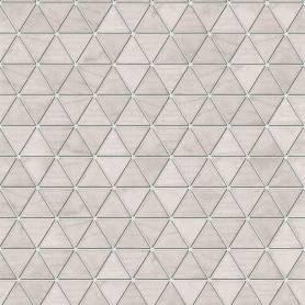 Papier peint Hexatriangle -  Rose - Reality 3 - Réf 51182403