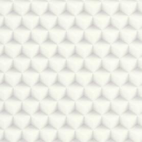 Papier peint Cubes 3D  -Blanc - Reality 3 - Réf 51176500