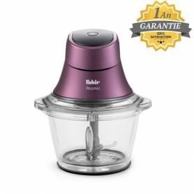 FAKIR Mini Hachoir - Electrique Atomic - 600W - Violet - Garantie 1 An