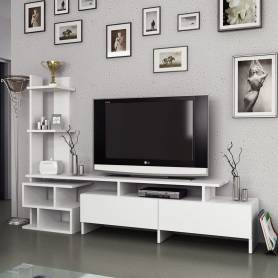 Meuble TV OSTRAL - Blanc