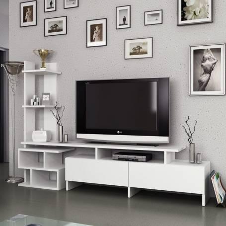 Meuble TV OSTRAL - Blanc
