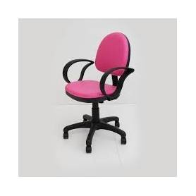 Chaise avec Accoudoirs -Rose