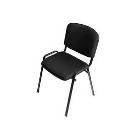 Chaise visiteur - NOIR