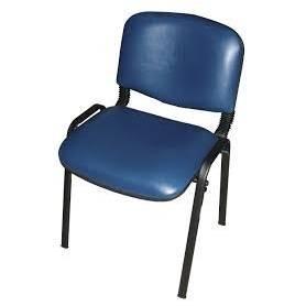 Chaise visiteur - Bleu