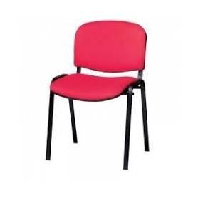 Chaise visiteur - Rouge