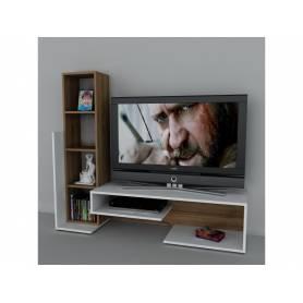 Meuble  TV - Layno - 180*140*35 cm - Bois MDF stratifié