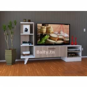 Meuble TV  Venezuela - bois MDF stratifiée - 180*140*35 cm