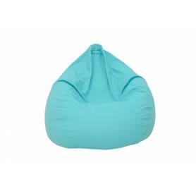 Poufs poire GÉANT XXL - Bleu Turquoise - 90*120 cm