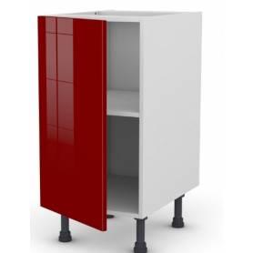 ARCHICUISINE Meuble Bas - Rouge - 40* 72 * 58 cm