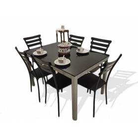 Table Cuisine Luxe Avec 6...
