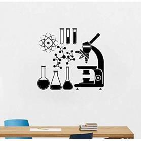 Sticker - laboratoire - 57*62 cm - noir - STICKER2048