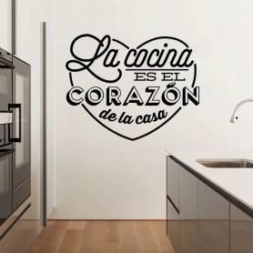 Sticker - la cocina - 57*71 cm - noir - STICKER2071