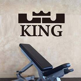 Sticker - king - 57*102 cm - noir - STICKER2057