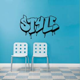 Sticker Graffiti Style -...